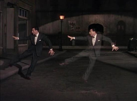 "Gene dancing with himself in the Alter Ego sequence in ""Cover Girl"""
