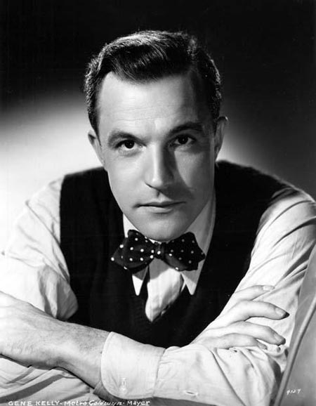 serious gene kelly, portrait