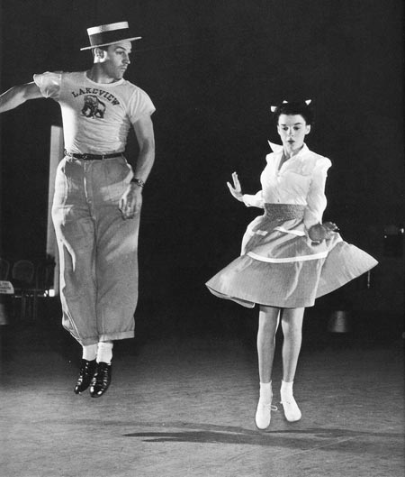 Gene and his first onscreen dance partner, Judy Garland