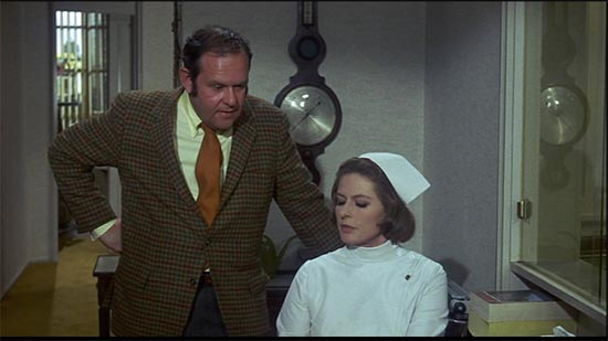 ingrid bergman and jack weston, cactus flower, weston making appointment for his girlfriend