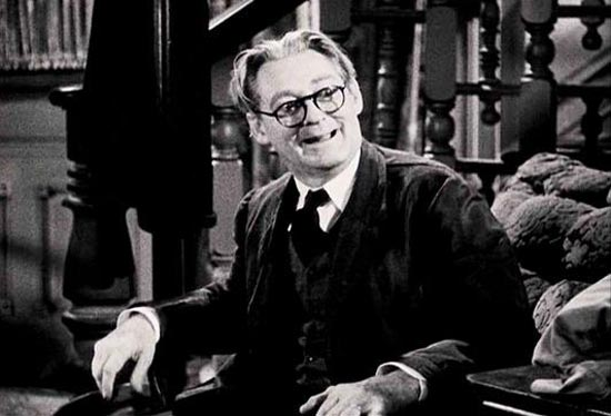 Lionel Barrymore as Grandpa Vanderhoff in You Can't Take It With You