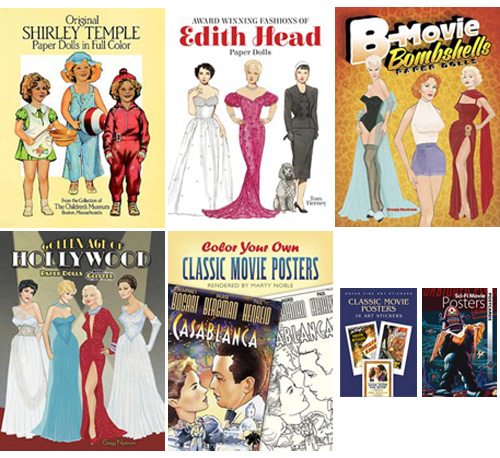 Dover Publications Classic Movie Collectable Paper Dolls