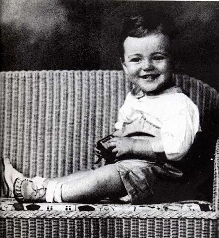 Jack Lemmon as a child