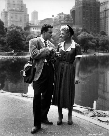 jack lemmon and judy holiday in it should happen to you