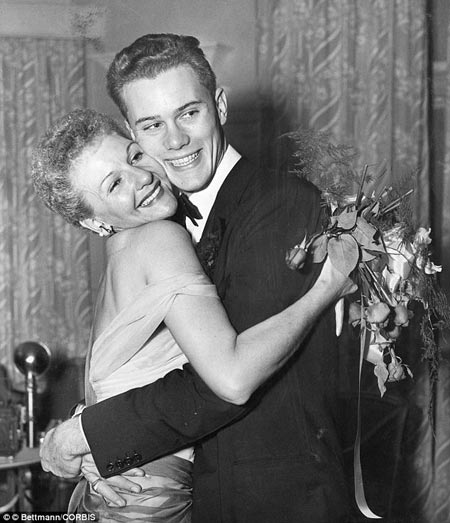 Mother and Son Mary Martin and Larry Hagman