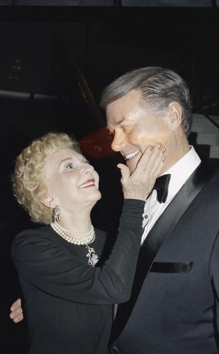 larry hagman and mother mary martin, yes even JR loves his mother!