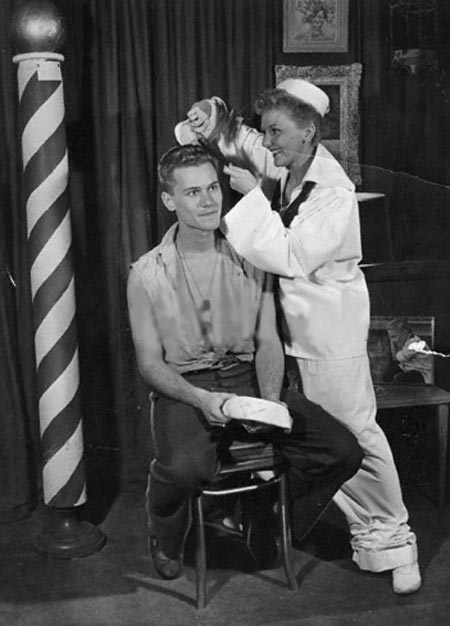 larry hagman and mary martin, south pacific