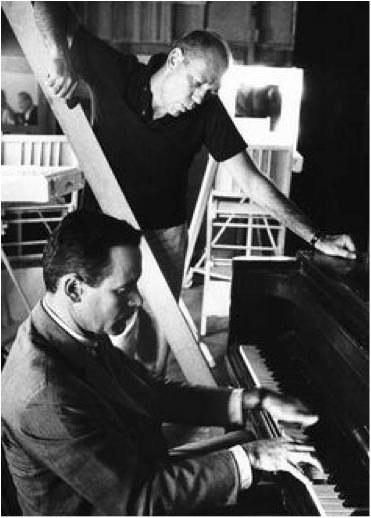 jack lemmon at the piano