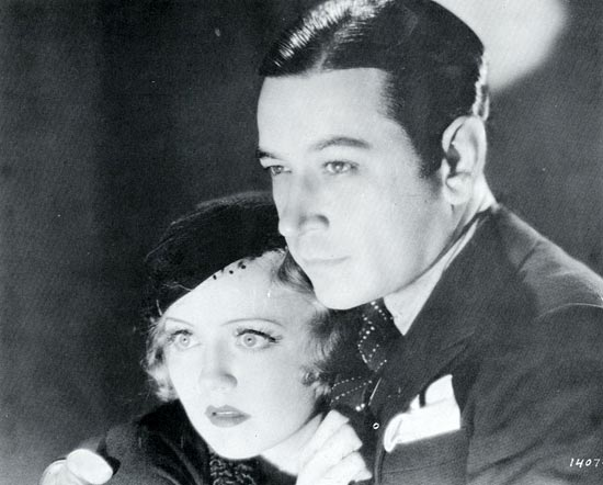George Raft and Nancy Carroll, Under-Cover Man