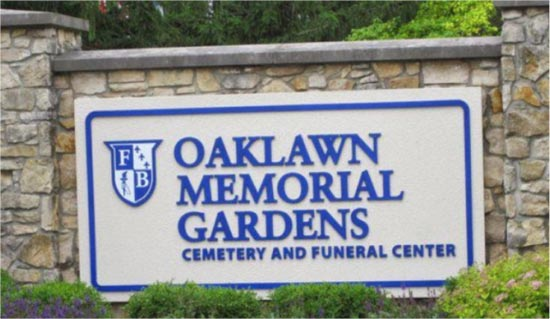 Francis Farmer is interred at Oaklawn Memorial Gardens Cemetery. The cemetery's address is 9700 Allisonville Rd., Indianapolis.