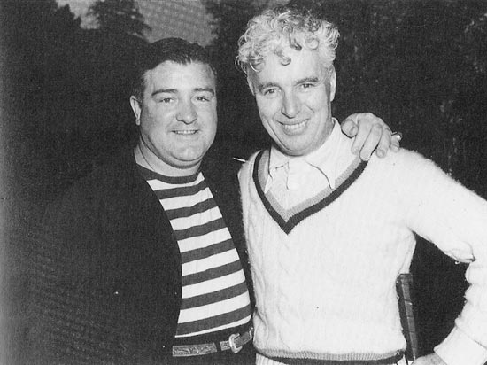 Lou Costello and Charlie Chaplin