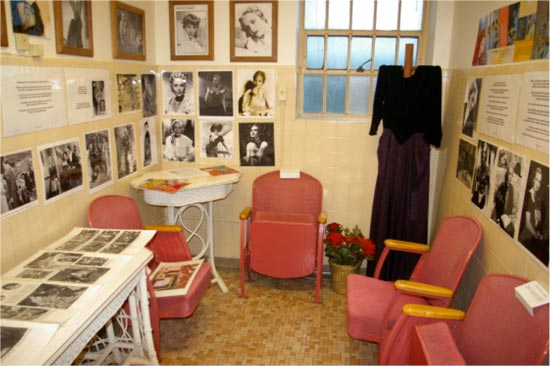 Western State Hospital has a small museum about the history of the hospital that includes a Frances Farmer room as a tribute to her