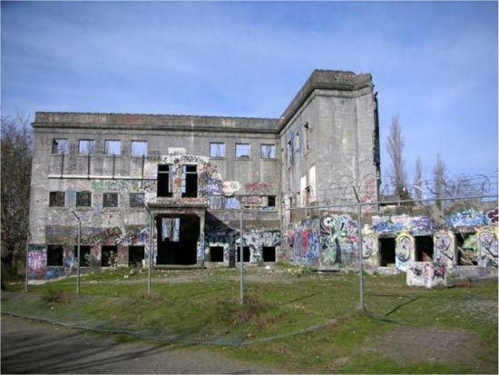Western State Hospital has since abandoned the building in which Frances was housed as a patient; building in disrepair