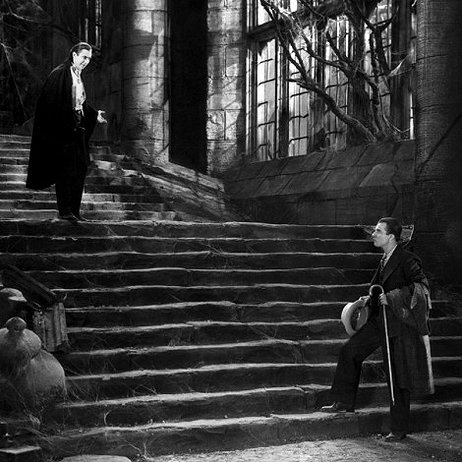 Renfield arrives at Castle Dracula