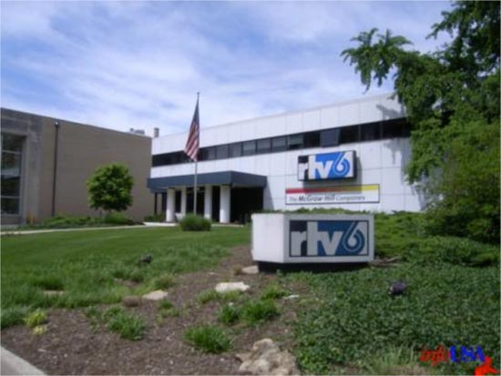 Farmer worked for the local NBC affiliate, WFBM-TV, which is now RTV-6. They were (and still are) located at 1330 N Meridian.