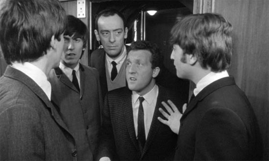 A Hard Day's Night, where's Paul's grandather