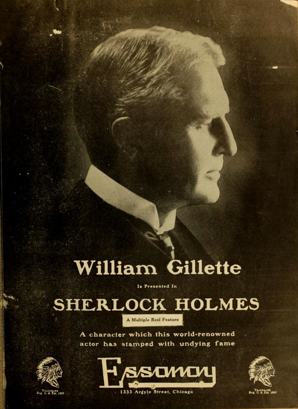 Sherlock Holmes Tradepaper Ad