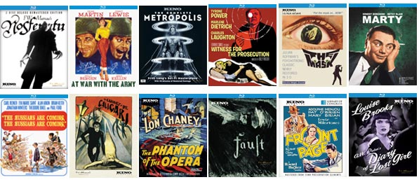 Classic Movie Hub Kino Lorber DVD and Blu-Ray Giveaway Contest