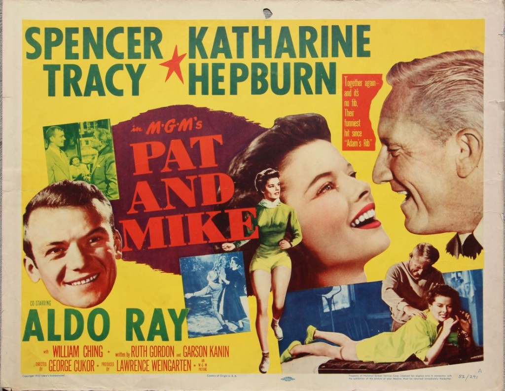 Pat and Mike_Katharine Hepburn_Spencer Tracy