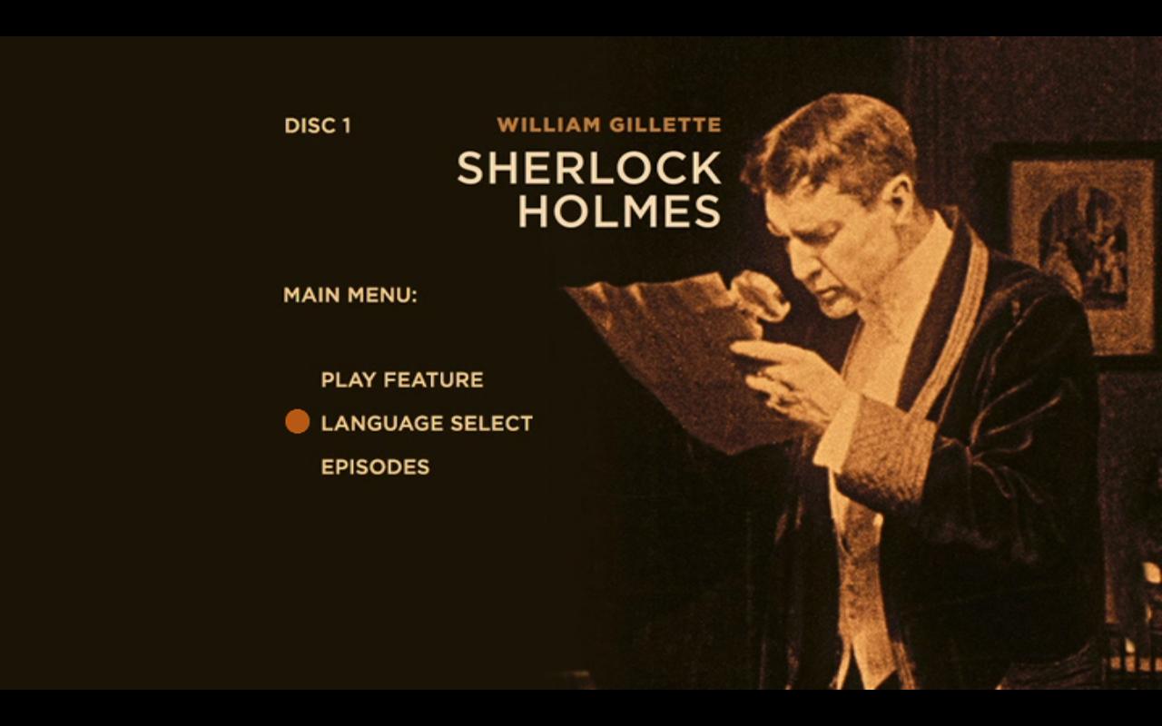 Sherlock Holmes TItle Screen