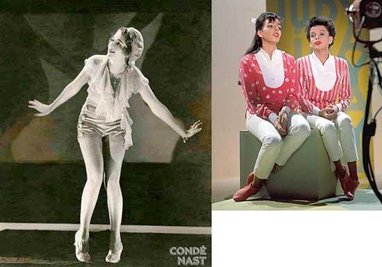 "Ruby Keeler in ""Show Girl""; Judy Garland Liza Minnelli"