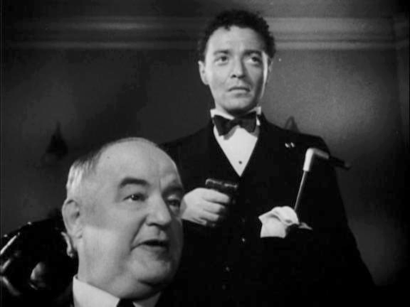 Sydney Greenstreet and Peter Lorre in The Maltese Falcon