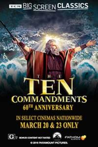 TCM Big Screen Classics: The Ten Commandments
