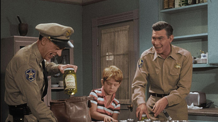 The Andy Griffith Show Pickles Episode in color