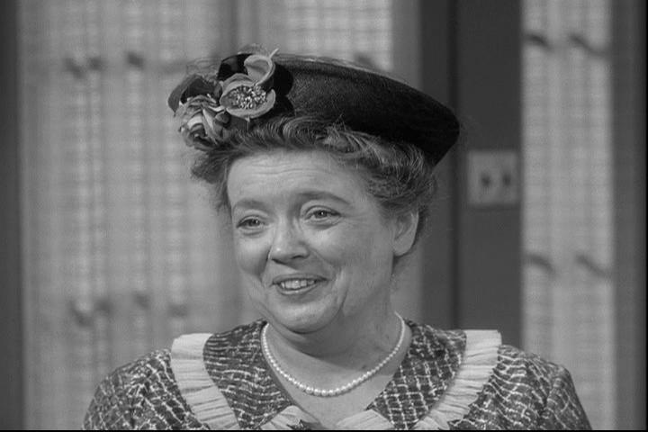 "Frances Bavier: Aunt Bee's first appearance, ""The New Housekeeper"" (1960)."