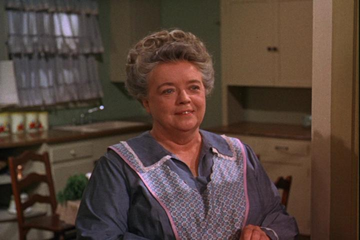 Frances Bavier as Aunt Bee in The Mayberry Chef
