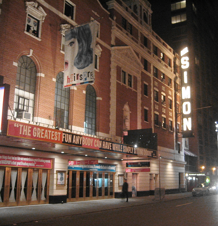 Neil Simon Theater (once the Alvin Theater)