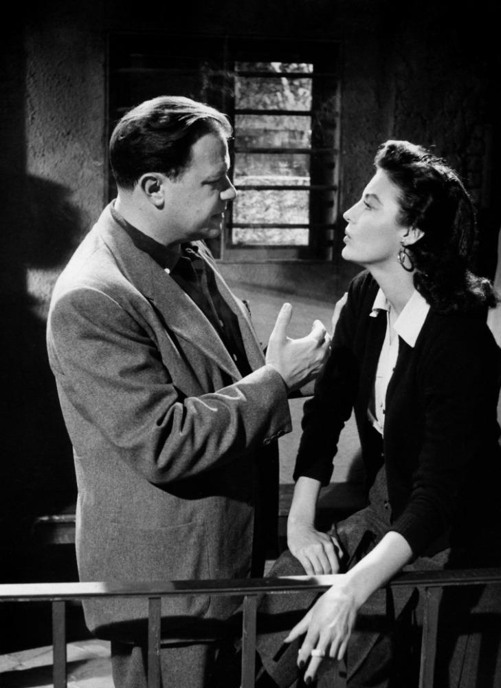 joseph l mankiewicz (The Barefoot Contessa, 1954) - avec Ava Gardner