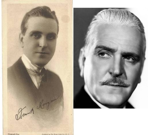 Frank Morgan as a young man and Frank in the early 1930s when he entered film.