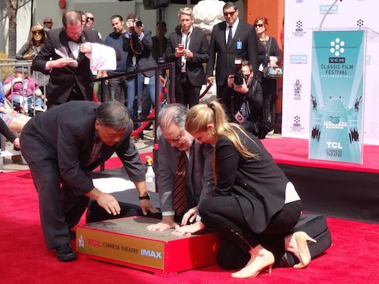 francis-ford-coppolo-graumans-handprint-ceremony-2016-classic-movie-hub; photo credit: Annmarie Gatti for Classic Movie Hub; (c) 2016 Classic Movie Hub