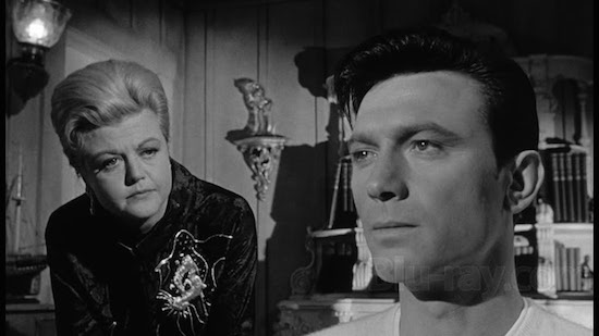 Angela Lansbury and Laurence Harvey in The Manchurian Candidate 1962