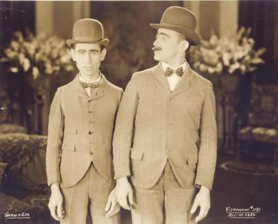 shaw and lee, vaudeville, vitaphone
