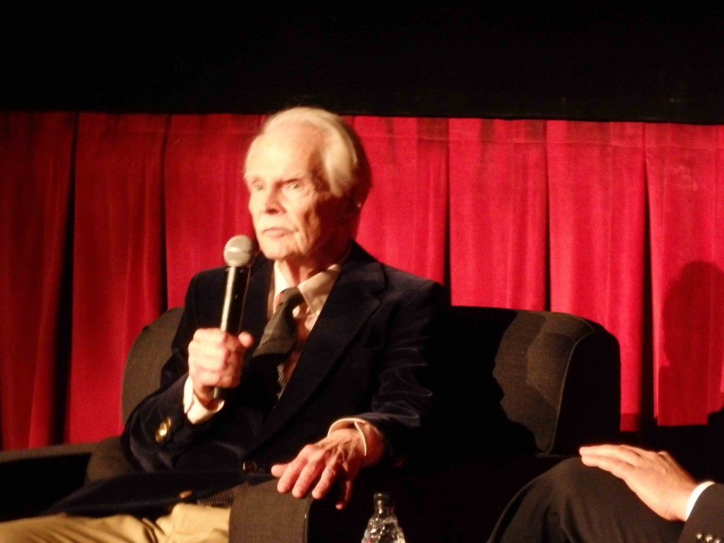 Ted Donaldson introduces A Tree Grows in Brooklyn at the TCMFF 2016; photo credit: Annmarie Gatti for Classic Movie Hub; (c) 2016 Classic Movie Hub