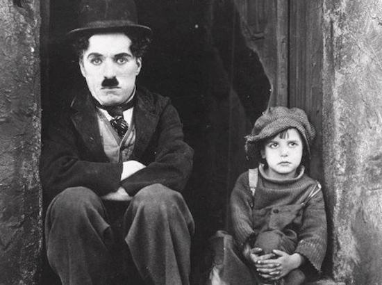 The Kid 1921 starring Charlie Chaplin and Jackie Coogan