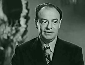 "Dave Fleischer  in the Chaplin-authored film ""Trocadero"" (1944)"