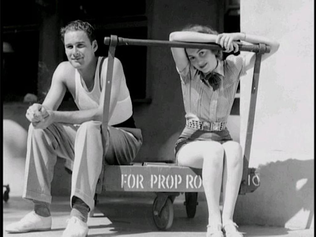 Olivia and Errol