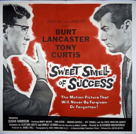 Sweet Smell of Success Theatrical Poster