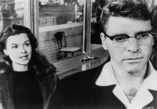 Sweet Smell of Success, Susan Harrison and Burt Lancaster