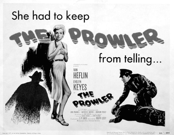 The Prowler, 1951, film poster