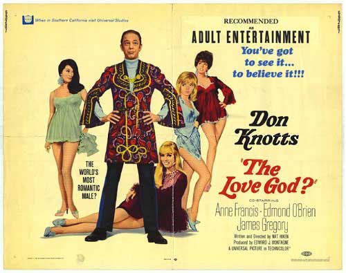 The Love God, Don Knotts, poster