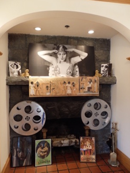 theda bara display fort lee museum, photo (c) 2015 Classic Movie Hub