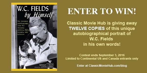 W.C. Fields by Himself contest by classic movie hub