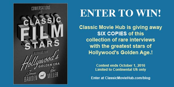 Conversations with Classic Film Stars Contest