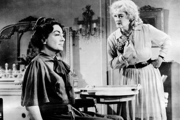 Joan Crawford and Bette Davis What Ever Happened to Baby Jane