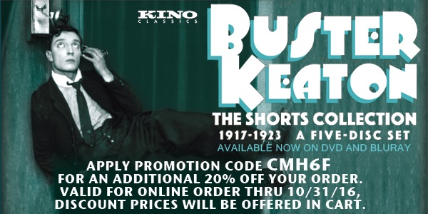 Buster Keaton Shorts 1917-1923 Coupon Code
