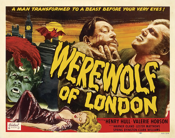 Werewolf of London 1935 theatrical poster
